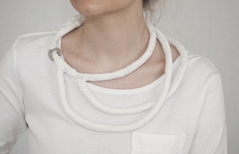 """""""Lucza"""" handcrochet  necklace"""