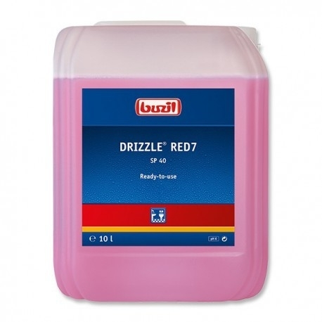 SP10 Drizzle red 10 liter navul verpakking