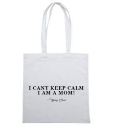Keep Calm canvas tas