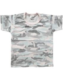 Camo roze shirt