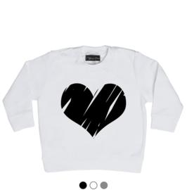 Big heart trui
