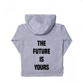 The future is yours vest grijs