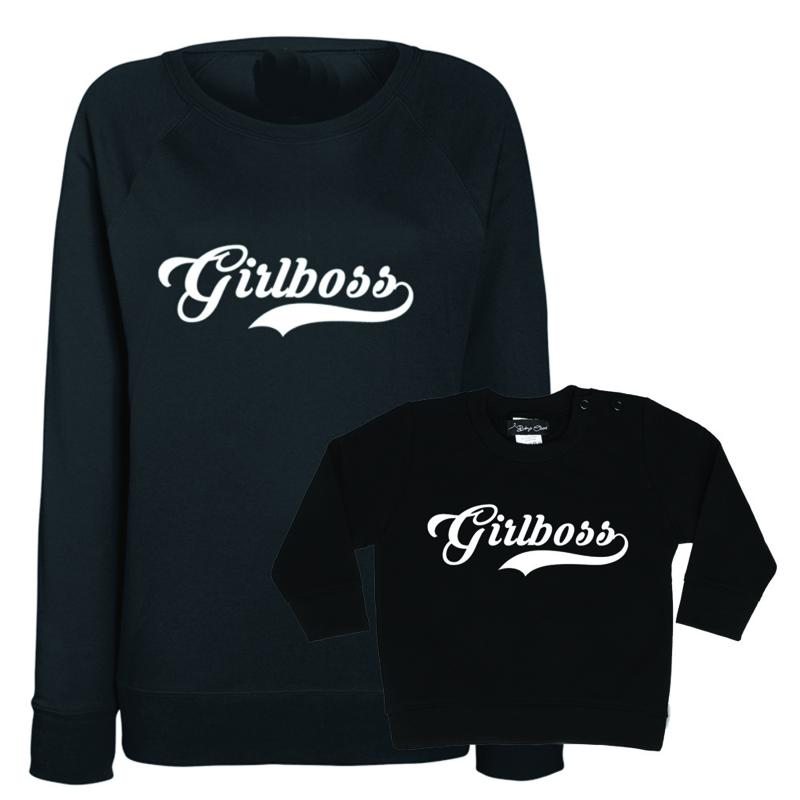 Girlboss sweater twinning