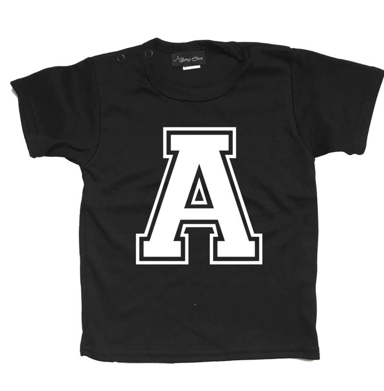 Letter J shirt