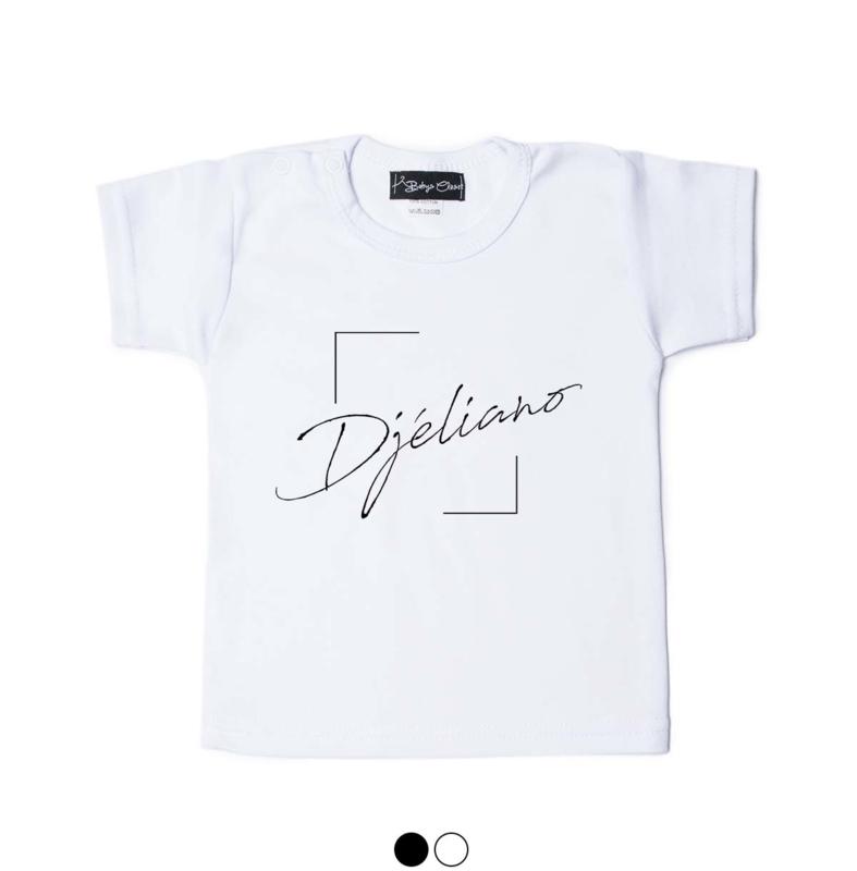 Boxed Name shirt