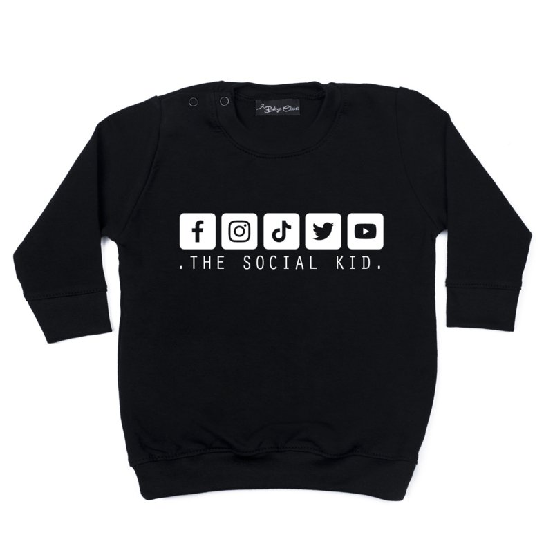 Sweaterdress - Social Kid