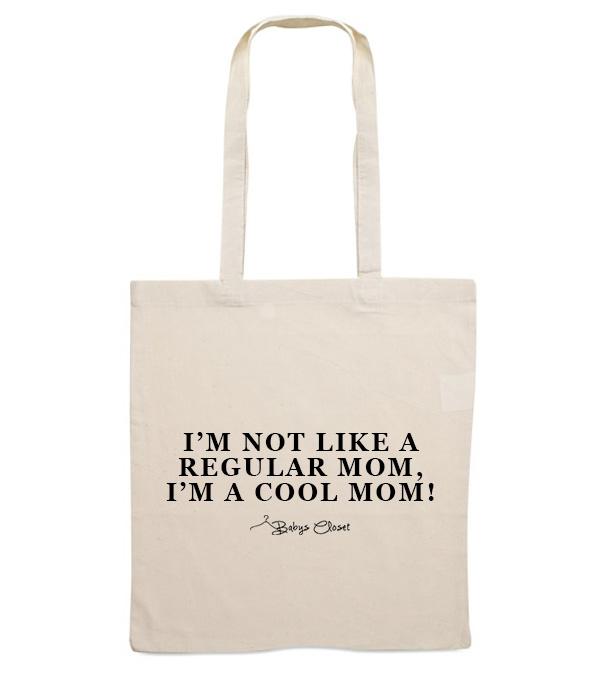 Cool mom canvas tas