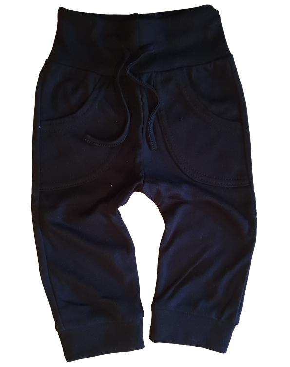 Broekje met zakken zwart