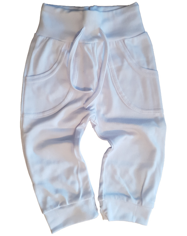 Broekje met zakken wit