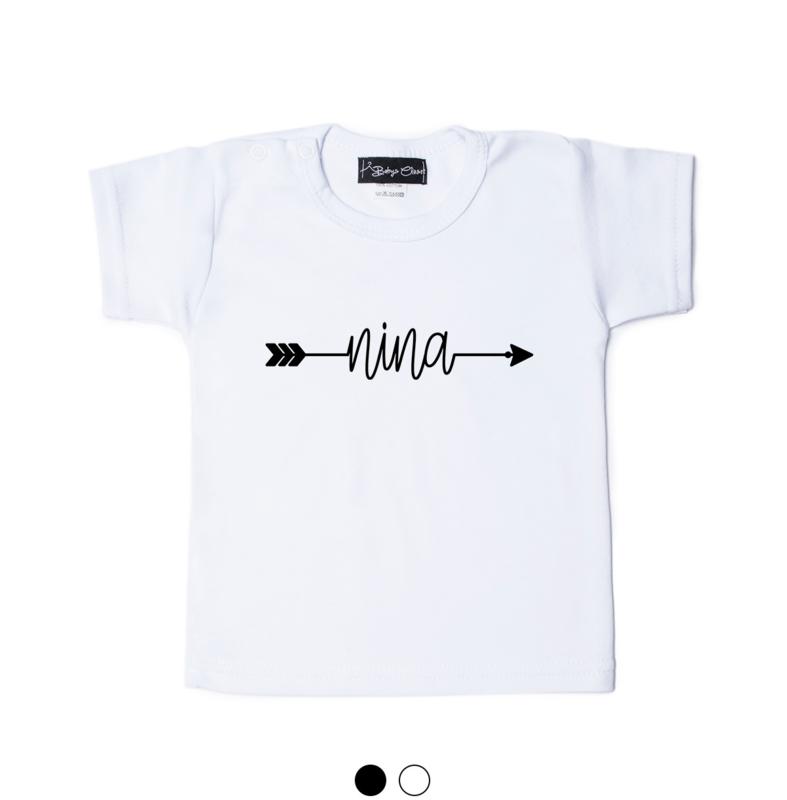 Arrow Name shirt