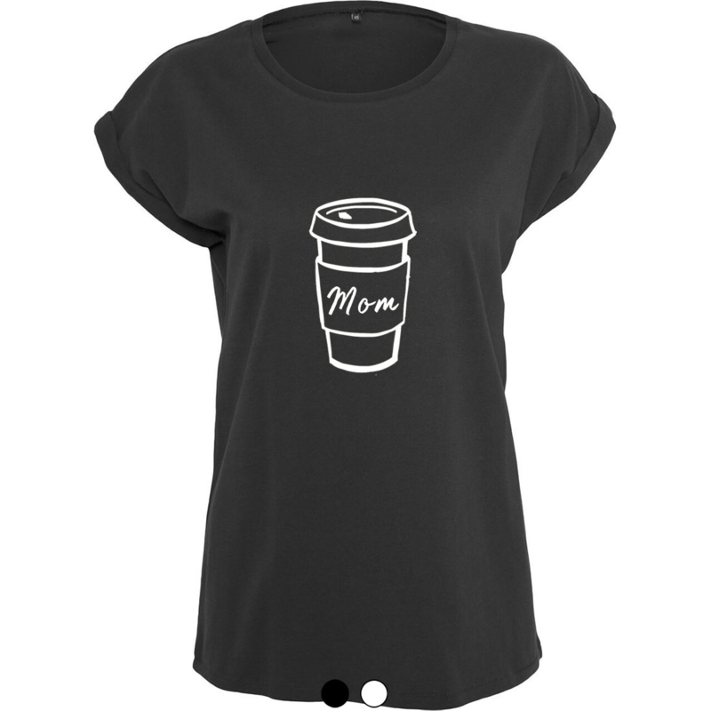 Coffee t-shirt zwart