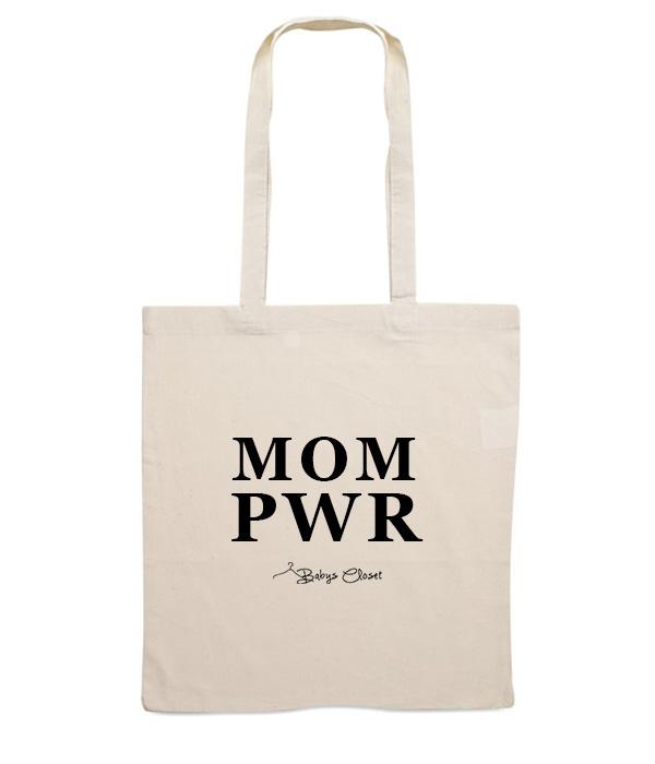 Mom PWR canvas tas