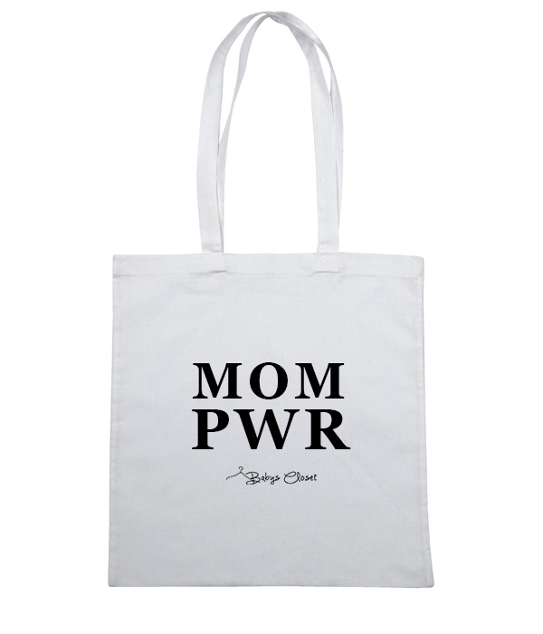 Mom PWR canvas tas
