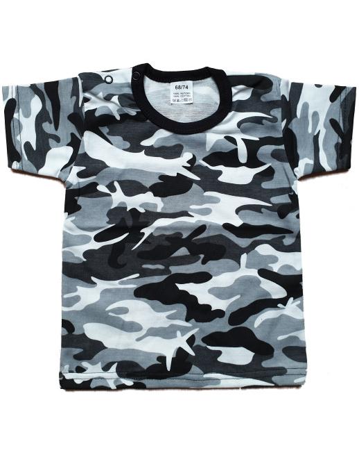 Camo grijs shirt