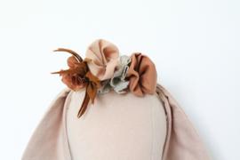 Bloemenkroon aardetinten