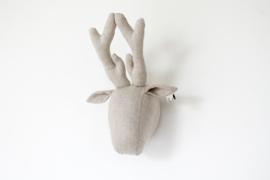 Deer linen natural