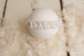 Snow luxe handgemaakte tieback