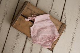 Lisa romper 9 maanden roze