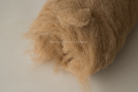 Wool fluff camel medium- 100cmx50cm