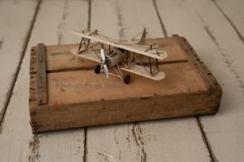 Vintage speelgoed vliegtuigje