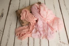 Luxe layer pakket met 3 roze luxe layers