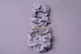 Stretch Wrap - Faye (periwinkle purple)