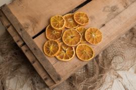 Sinaasappelschijfjes gedroogd