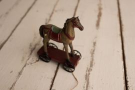 Trekpaardje gekleurd
