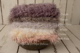 Luxe faux fur layer - Creme (100 x 80cm) (NIEUW)