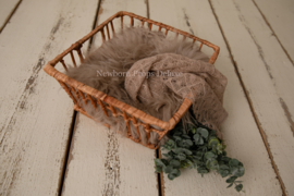 Complete set met Square Basket (beige) (NIEUW)