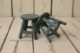 Sitter krukje (vintage blauw)