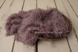 Luxe faux fur layer - Purple (100 x 80cm) (NIEUW)