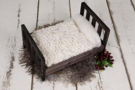 Vintage Newborn Bed (donker bruin)