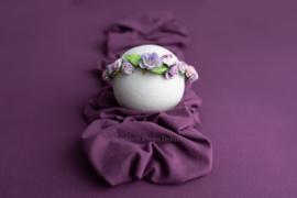 Stretch Backdrop - Faye (grape purple)