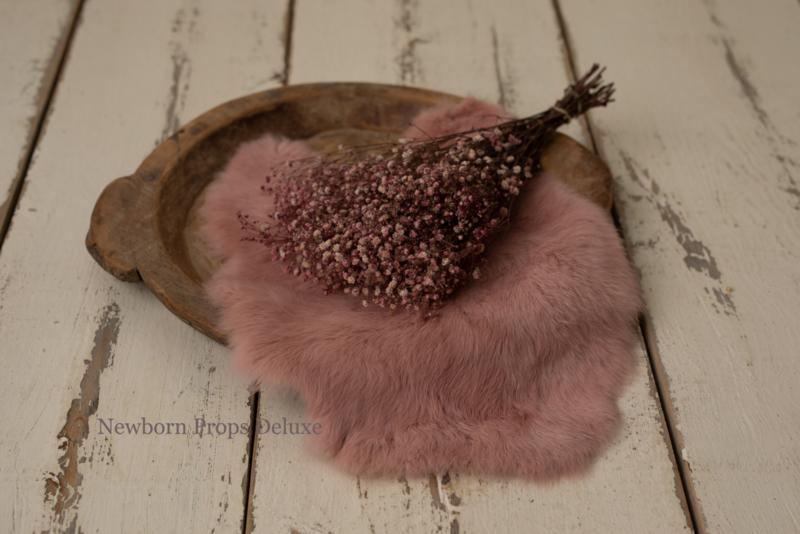 Vachtje klein (roze)