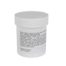 Celzout 21 - Zincum chloratum - 100 gram