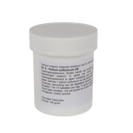 Celzout 06 - Kalium Sulfuricum - 100 gram