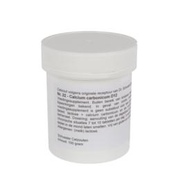 Celzout 22 - Calcium Carbonicum - 100 gram