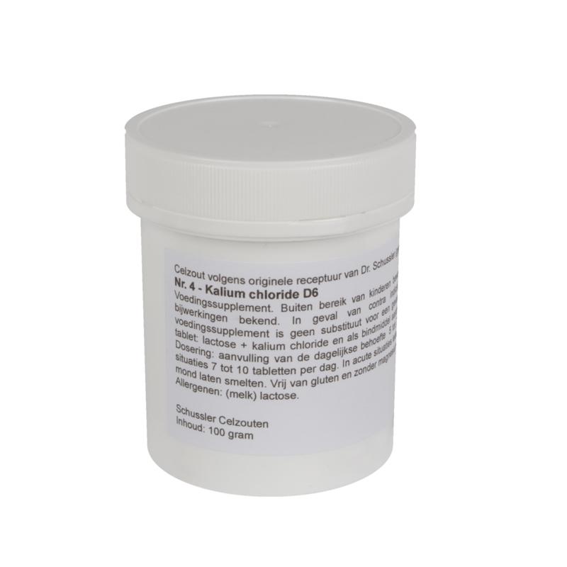 Celzout 04 - Kalium Chloride - 100 gram