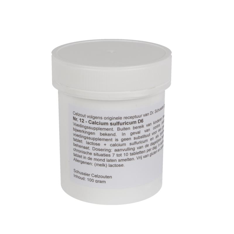 Celzout 12 -  Calcium Sulfuricum - 100 gram