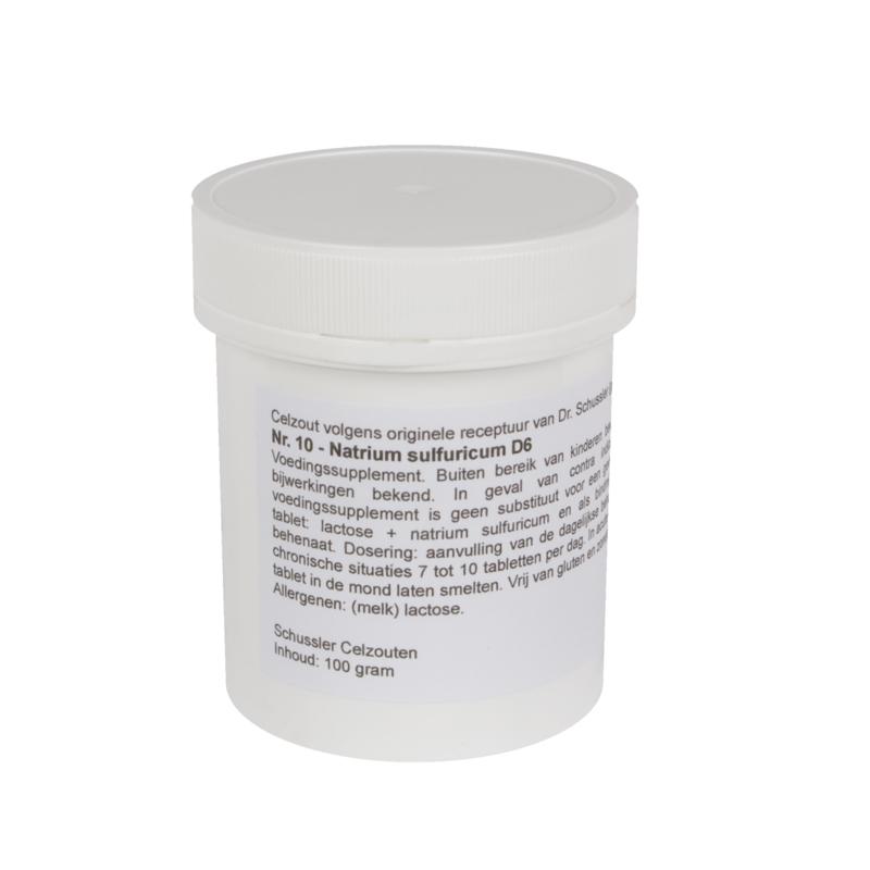 Celzou 10 - Natrium Sulfuricum