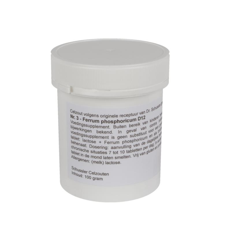 Celzout 03 - Ferrum Phosphoricum - 100 gram