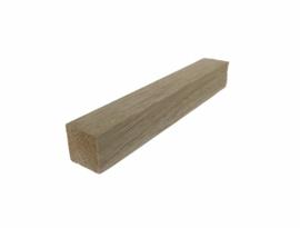 Balsa hout (LxBxH: 20 x 3 x 3 cm)