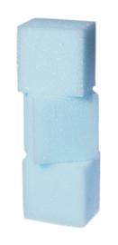 Grimas Make-up spons rechthoekig (verpakt per 3 stuks)