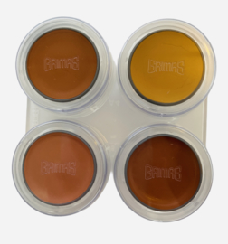 Grimas Special Make-up Skintones 4 Palet (4 x 2,5 ml)
