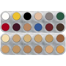 Grimas Crème Make-up palet K (combinatie van paletten B en V)