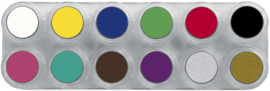 Grimas Water Make-up Pure palet A12 (12 x 2,5 ml)