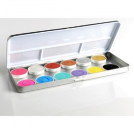 Superstar Aqua Palette Duo shimmer- and pastel 12 colours