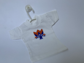 Mini T-shirt met LOTUS logo en hanger