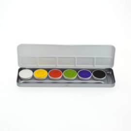 Superstar Aqua Face- and Bodypaint palette 6 colours HALLOWEEN